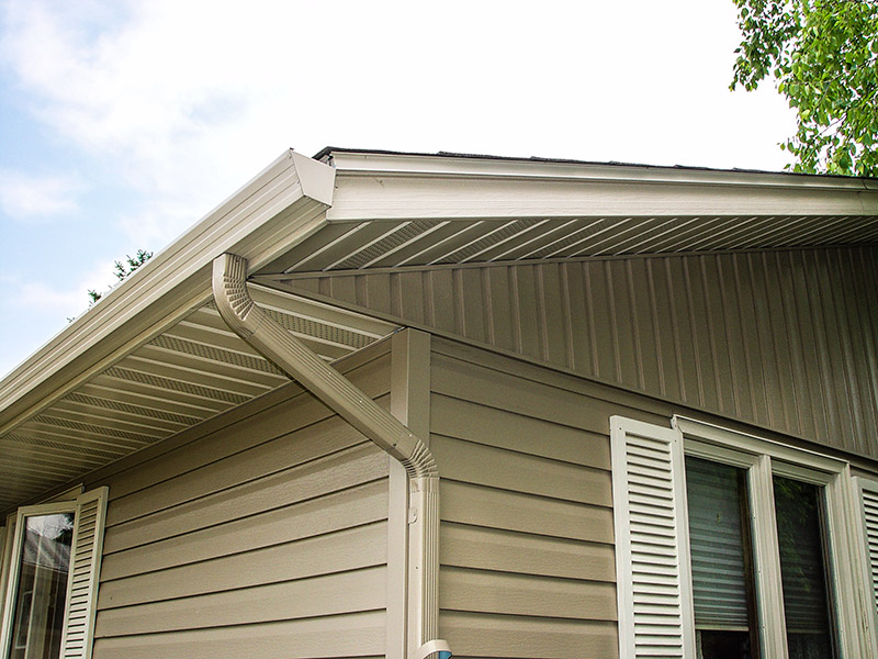 Steel Gutters Abc Seamless Siding Amp Windows Inc