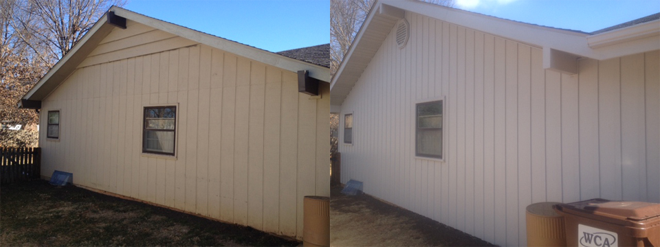 Vertical Siding Before And After