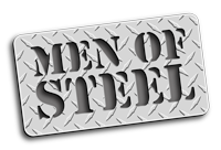 men of steel logo